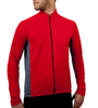 Men's Whistler Long Sleeve Model Front in Red
