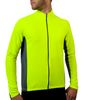 Men's Whistler Long Sleeve Model Front in Safety Yellow