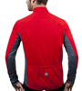 Men's Whistler Long Sleeve Model Back in Red