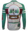 Aero Tech Long Sleeve Brushed Fleece Peloton 2017 Holiday Jersey Back
