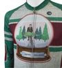 Aero Tech Long Sleeve Brushed Fleece Peloton 2017 Holiday Jersey Off Front Detail