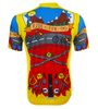 Aero Tech Printed Cycling Jersey Ride for Infinity Back View