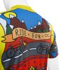 Aero Tech Printed Cycling Jersey Ride for Infinity Off Back Detail