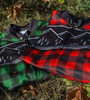 Brushed Fleece Lumberjack Cycling Jersey Great in Cold Weather
