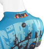 Aero Tech Dirty Dozen Cycling Jersey 2017 Upper Back and Collar Detail
