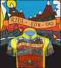 Ride for Infinity Youth Cycling Team Jersey Graphic Panel