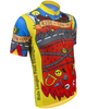 Aero Tech BIG Men's Printed Ride for Infinity Sprint Cycling Jersey Off Front View