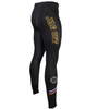 Men's Tenacious JAG OFF Pittsburgh Theme Cycling Tights Side View