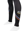 Men's Tenacious JAG OFF Pittsburgh Theme Cycling Tights Ankle View 1