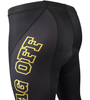 Men's Tenacious JAG OFF Pittsburgh Theme Cycling Tights Hip View