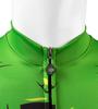 Aero Tech Halloween Long Sleeve Zombie Cycling Jersey Front Zipper Detail