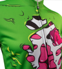 Aero Tech Halloween Long Sleeve Zombie Cycling Jersey Off Front Detail