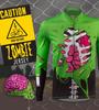 Aero Tech Halloween Zombie Jersey - Long Sleeve Cycling Jersey
