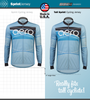 Aero Tech Tall Ice Detour Jersey is Taller than Standard Jerseys