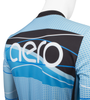 Aero Tech Tall Men's Long Sleeve Brushed Fleece Ice Detour Sprint Jersey Upper Detail