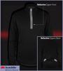 Long Sleeve Merino Wool Jersey Reflective Detail
