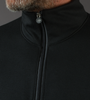 Long Sleeve Merino Wool Jersey Zippered to the Top