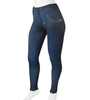 Women's Full Print Compression Jeggings Full Front View