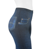 Women's Full Print Compression Jeggings Upper Side View