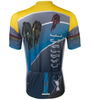 Aero Tech Tall Men's Cadence Sprint Cycling Jersey Back View