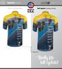 Tall Men's Cadence Sprint Cycling Jersey are Taller than standard Jerseys