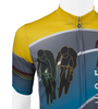 Tall Cadence Sprint Cycling Jersey Upper Graphic View