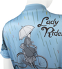 Lady Rider Off Top Back Detail