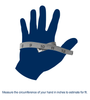 Gloves Measurement Graphic