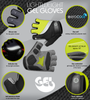 Gel Gloves Features Panel
