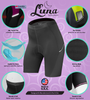 Women's Luna Cycling Shorts Features Panel