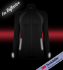 Women's FIT Long Sleeve Fitness Jacket Front Reflective