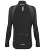 Women's FIT Long Sleeve Fitness Jacket with Reflective Back