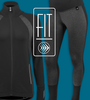 Women's FIT Long Sleeve Fitness Jacket Kit Panel