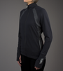 Women's FIT Long Sleeve Fitness Jacket Front in Action 1