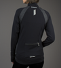 Women's FIT Long Sleeve Fitness Jacket Back with back pockets