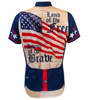 Aero Tech Women's Empress Patriot Cycling Jersey Back
