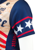 Women's Empress Made in the USA Patriot Cycling Jersey Sleeve View