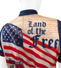 Patriot Land of the Free Cycling Jersey Detail