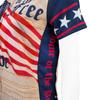 Aero Tech Women's Empress Patriot Cycling Jersey Side Panel Detail