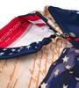 Aero Tech Women's Empress Patriot Cycling Jersey Zipper and Collar Relaxed Detail
