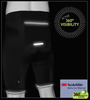 3M Reflective on Men's Voyager Padded Cycling Shorts