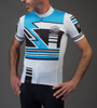 Aero Tech Men's Premiere Metric Cycling Jersey Front Model View