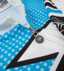 Aero Tech Men's Premiere Metric Cycling Jersey Relaxed Collar and Zipper Detail