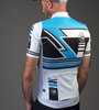 Aero Tech Men's Premiere Metric Cycling Jersey Back Model View