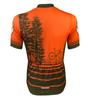 Aero Tech Tree Adventures Sprint Cycling Jersey Back View