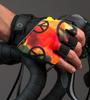 Aero Tech Peace Print Cycling Gloves Model View