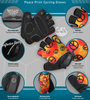 Aero Tech Peace Print Cycling Gloves Features
