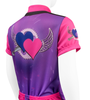 Flying Hearts Youth Jersey Off Back