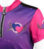 Pink and Purple Heart Front Details