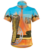 Aero Tech Youth Flaming Cobra Jersey Front